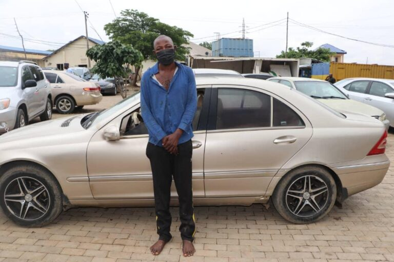 Finally, Police Nab Udogu Chidi, One-Chance Robber involved in Killing OAGF Director