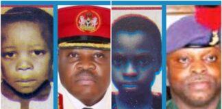 Late Brig Generals Olayinka and Abdulkadir