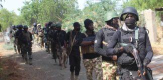 NIgerian Navy Personnel in Baga