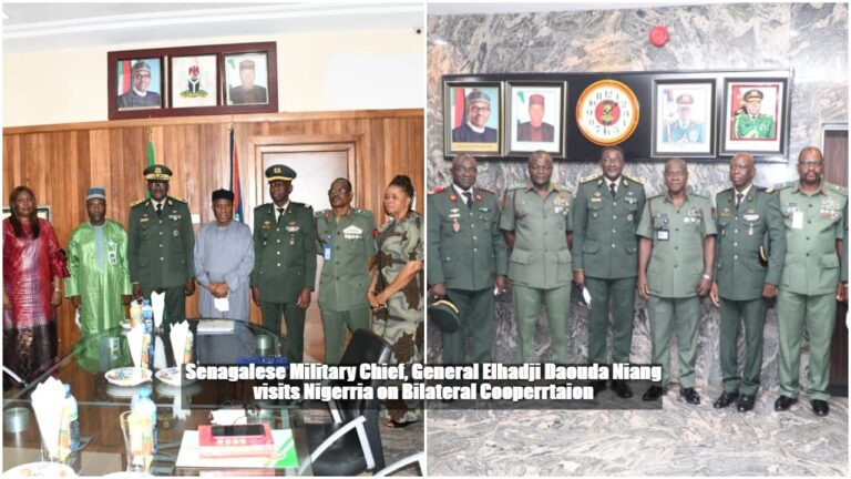 Senegalese Military Chief Visits Nigeria on Bilateral Cooperation