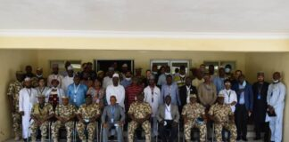 General Christopher Musa Theatre Commander and NGOs