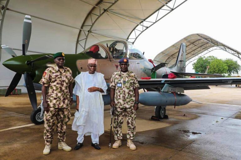 Ready for Action: NAF Inducts Super Tucano Aircraft