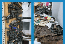 DSS Recovered Weapons, Charms from Sunday Igboho's house