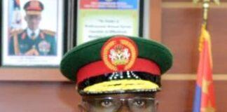 Major General Benjamin Olufemi Sawyer DHQ Spokesperson