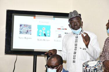 Yushau Shuaib reviews book on Digital Innovation at PRNigeria Centre Abuja