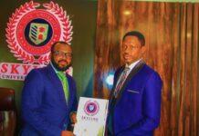 Ali Nuhu was recently signed up as an Ambassador of Skyline University Nigeria