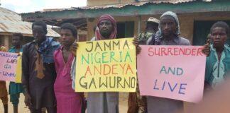 Former Boko Haram Members Surrender