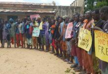 Former ISWAP Boko Haram Members Surrender