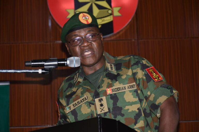 Army Chief Charges Troops to Crush Bandits in North-West