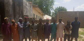 Boko Haram ISWAP Terrorists Surrender to Nigerian Troops August 2021