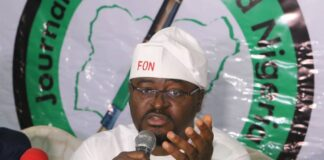 Fredrick Nwabufo of Journalists for United Nigeria (JUN)