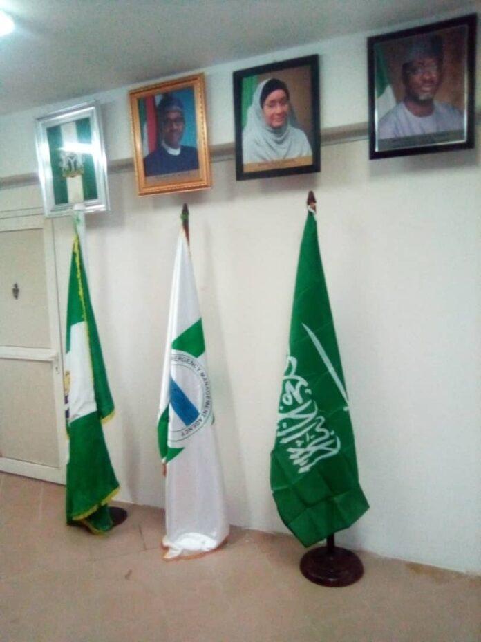 Flags of Nigeria, NEMA, Saudi Arabia