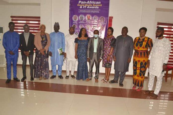Guests at Pan African Social Media Summit