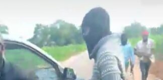 Biafra Motherland Warriors after attack on NSCDC