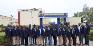 Nigerian Army War College Participants