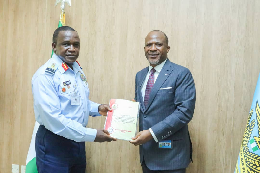 Air Chief Amao and AIB Boss Akin Olateru