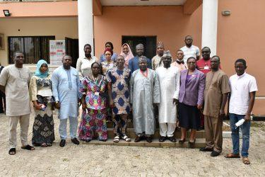 BPSR DG Dasuki Arabi and management PRNigeria Centre Abuja (1)