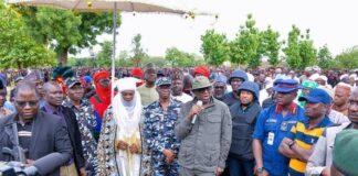 Gov Sani Bello Inaugurates Niger Special Vigilantes Corps NSVC June 2021