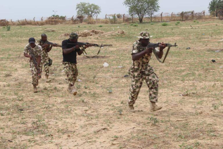 Naval Operatives Drill 'Hadin Kai' Troops on Combat Medic, Other Warfare Tactics