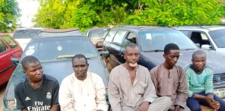Suspects paraded by Kastina police Command