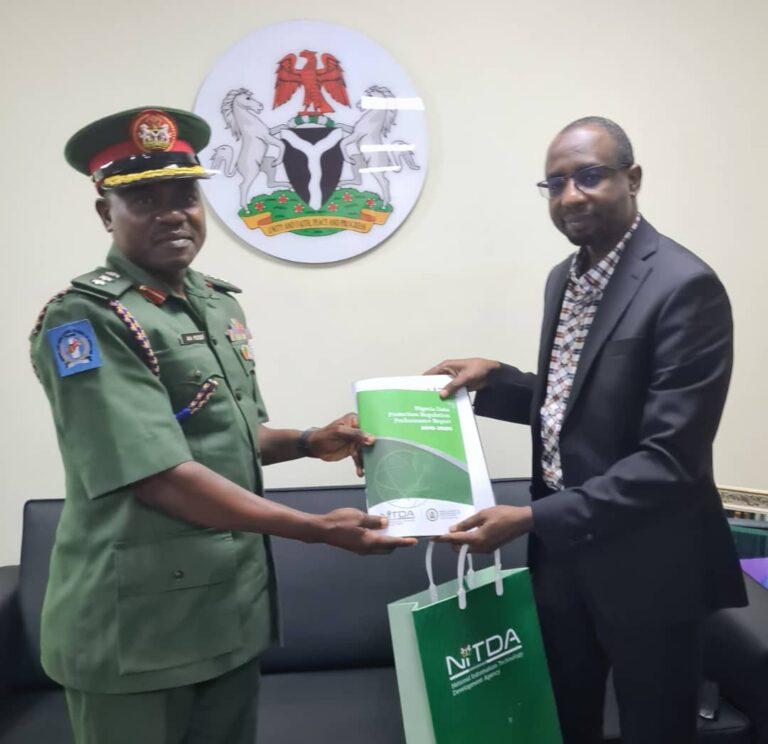 NITDA Boss Hosts NASPRI Commandant, Canvasses Digital Literacy for Security Spokespersons