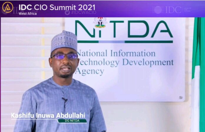 Director General, NITDA, Mal. Kashifu Inuwa Abdullah