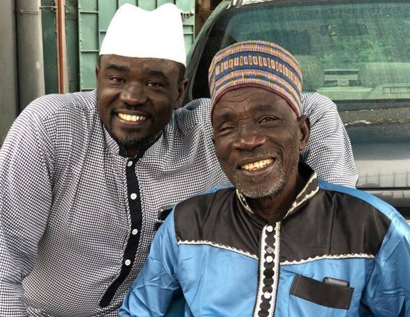 Yushau and his Father, Imam Shuaib Agaka