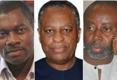 Rudolf Okwonkwo, Geoffrey Onyeama and Chido Onumah