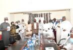 Professor Pantami and Guests at PRNigeria Centre Abuja