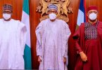Mala Buni, Muhammadu Buhari and Femi Fani Kayode-
