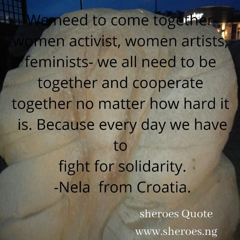 Sheroes Quote
