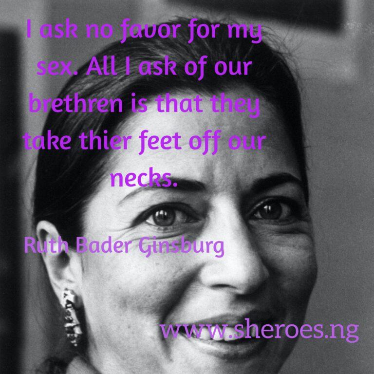 Tuesday Quote: Ruth Bader-Ginsburg