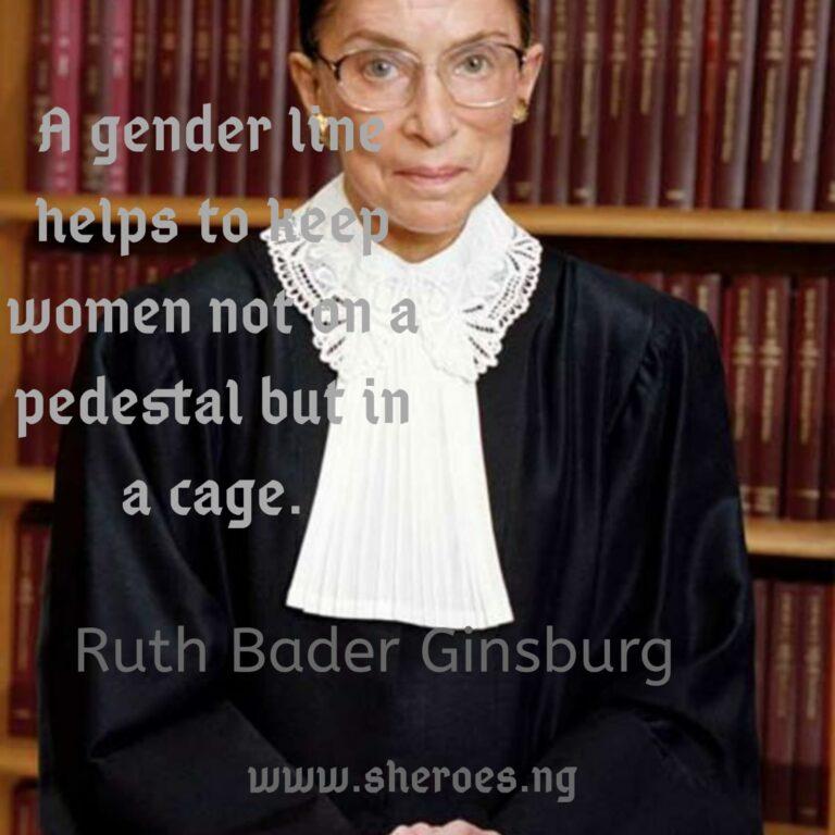 Monday Quote: Ruth Bader-Ginsburg