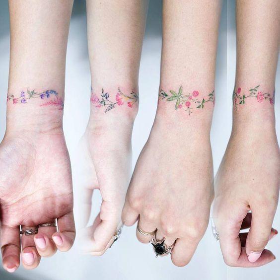 14 Tatuagens florais delicadas e FANTÁSTICAS!
