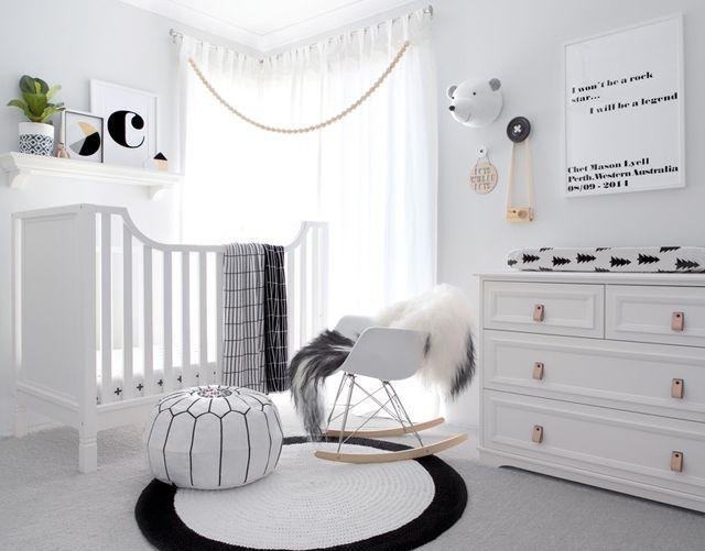 Quarto Infantil Preto E Branco: 17 Ideias Para Se Inspirar