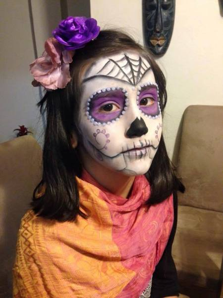 Maquiagem infantil para Carnaval