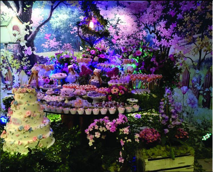 chá de bebê jardim encantado