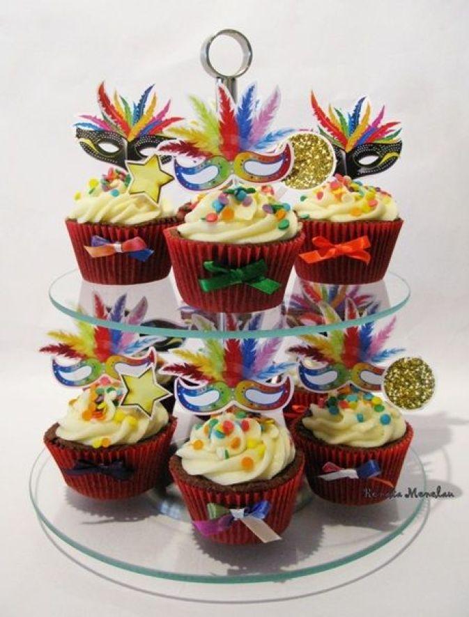 cupcake festa Carnaval