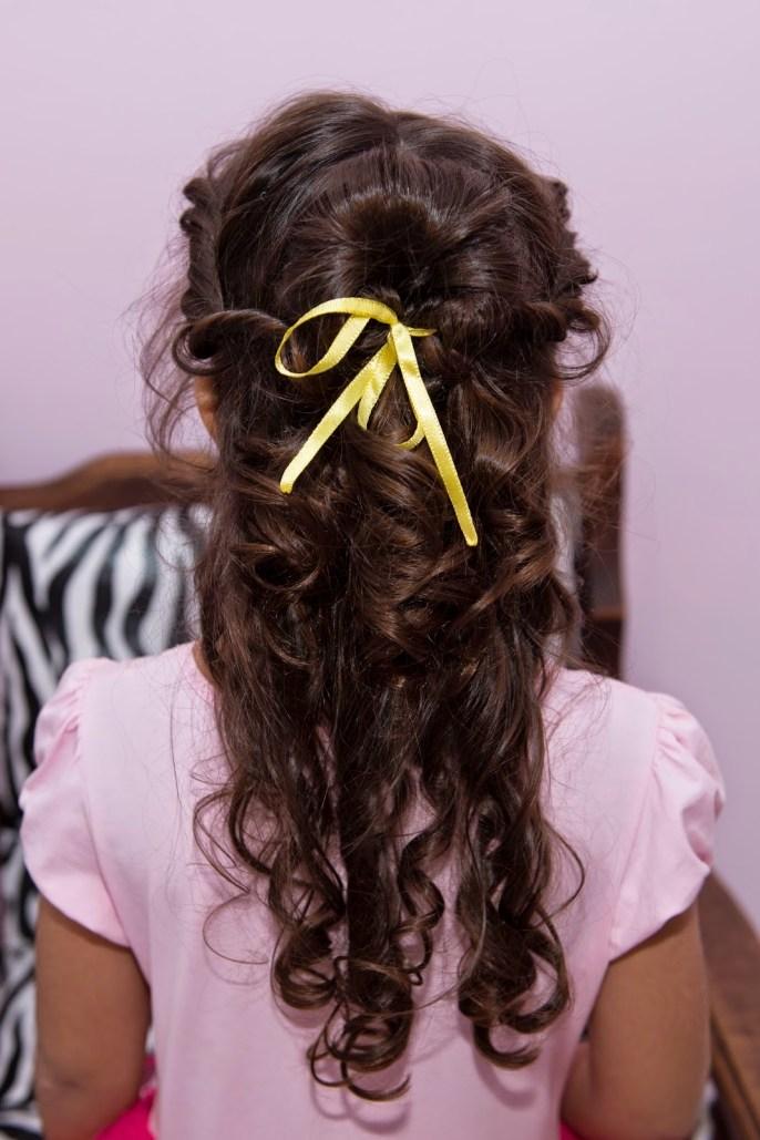 penteado Bela (a Bela e a Fera)