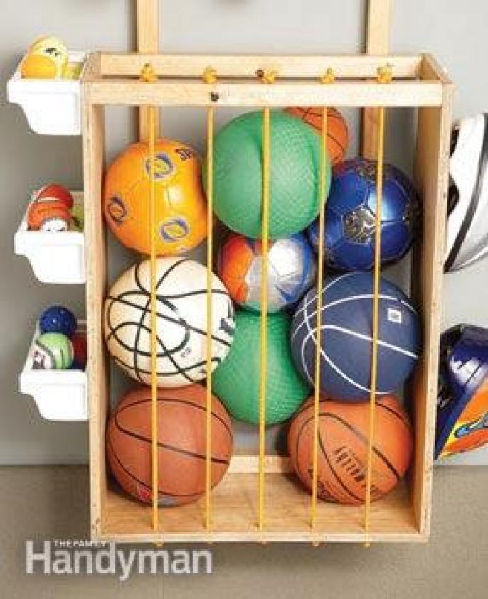 com organizar bolas