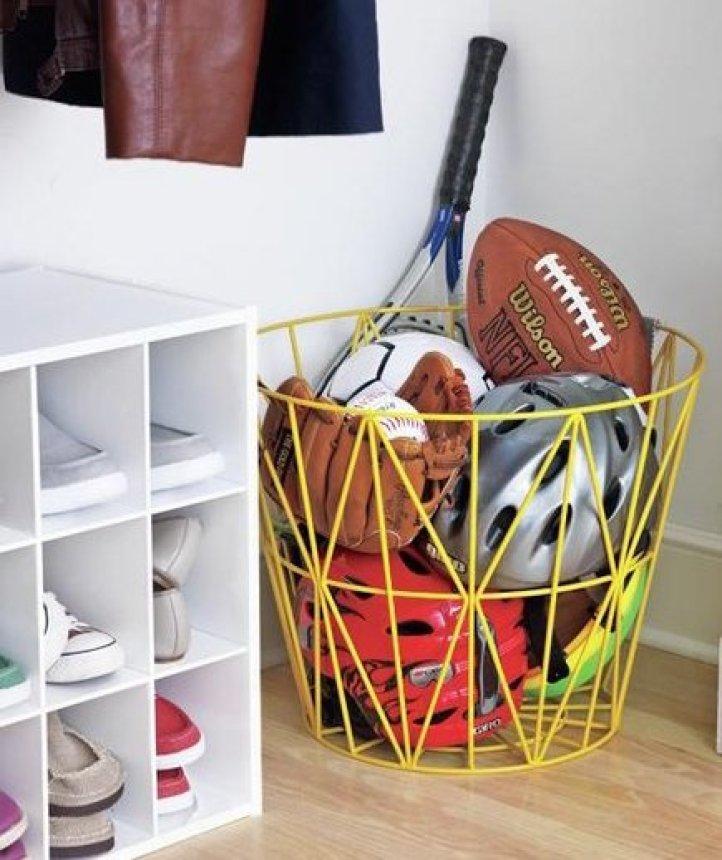 cestos para guardar bolas