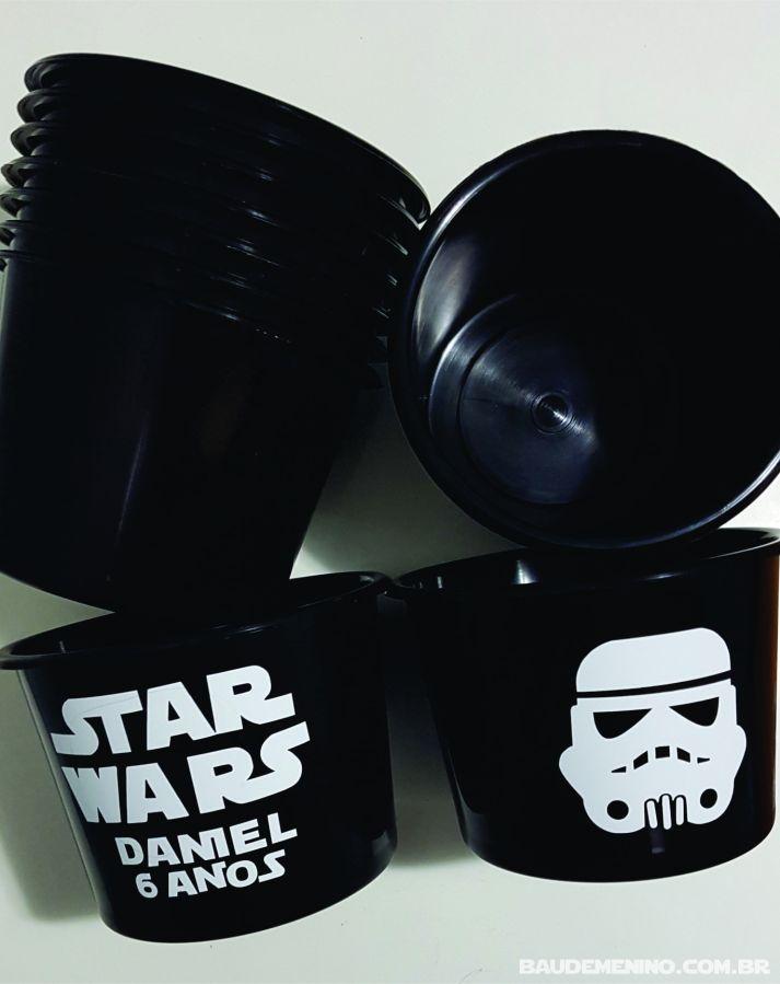 lembrancinha festa Star Wars do Daniel