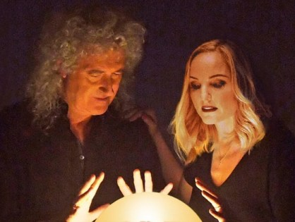 Brian May anuncia novo disco com Kerry Ellis
