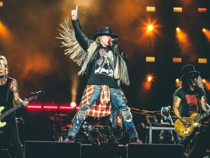 GUNS N' ROSES E THE WHO NO ROCK IN RIO