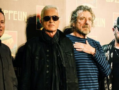 LED ZEPPELIN ANUNCIA TURNÊ E NOVO ÁLBUM