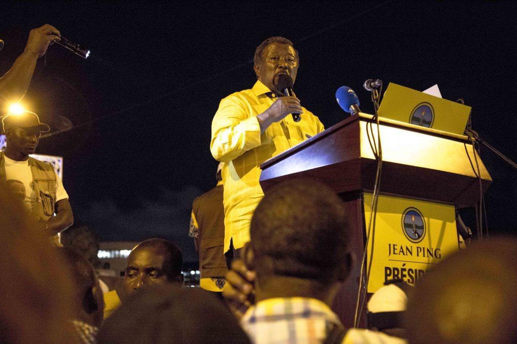 Meeting de clôture du candidat de l'oppostion Jean Ping à Libreville_Baudouin Muanda 3