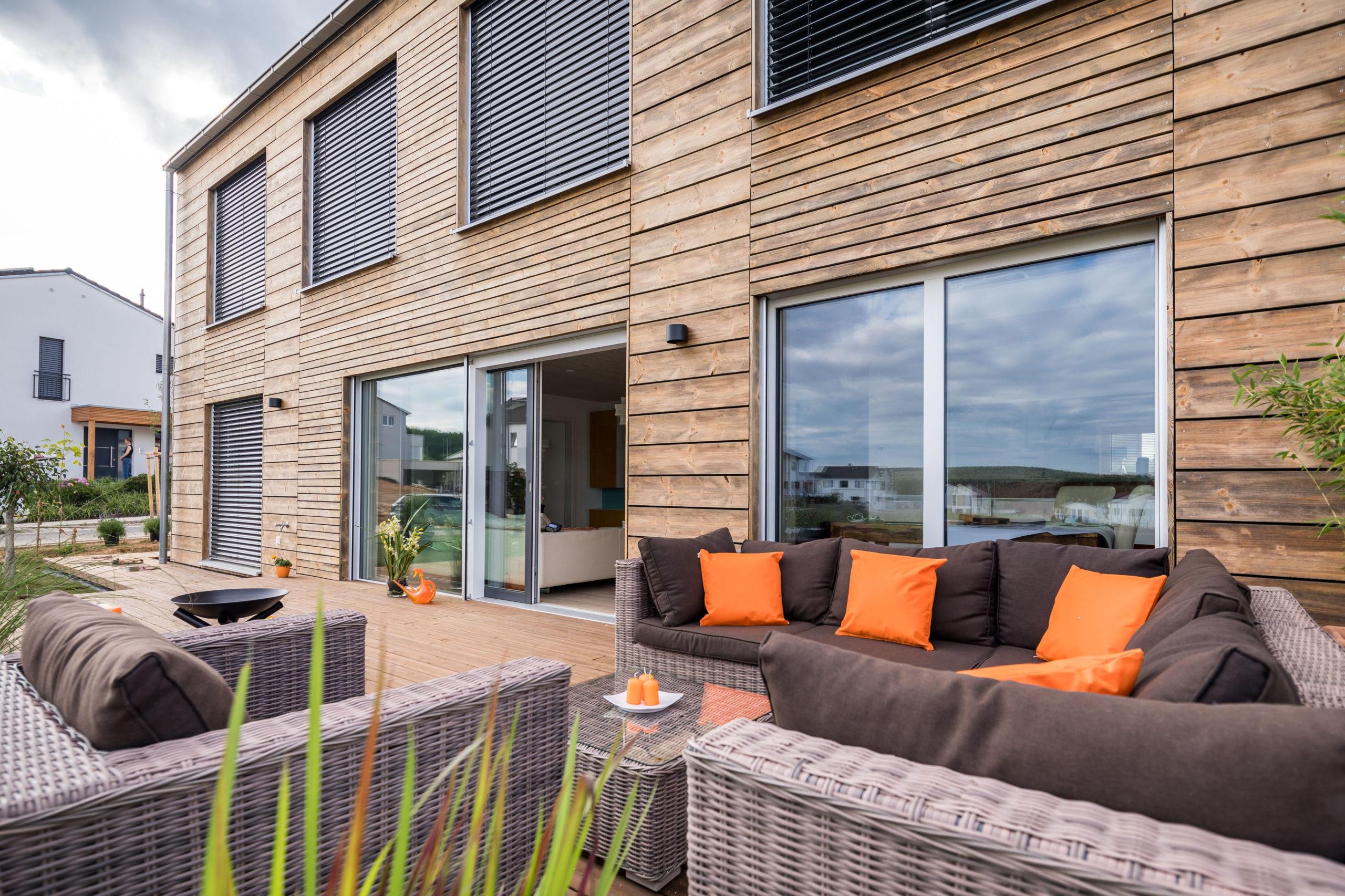 Holzdielen für die Terrasse