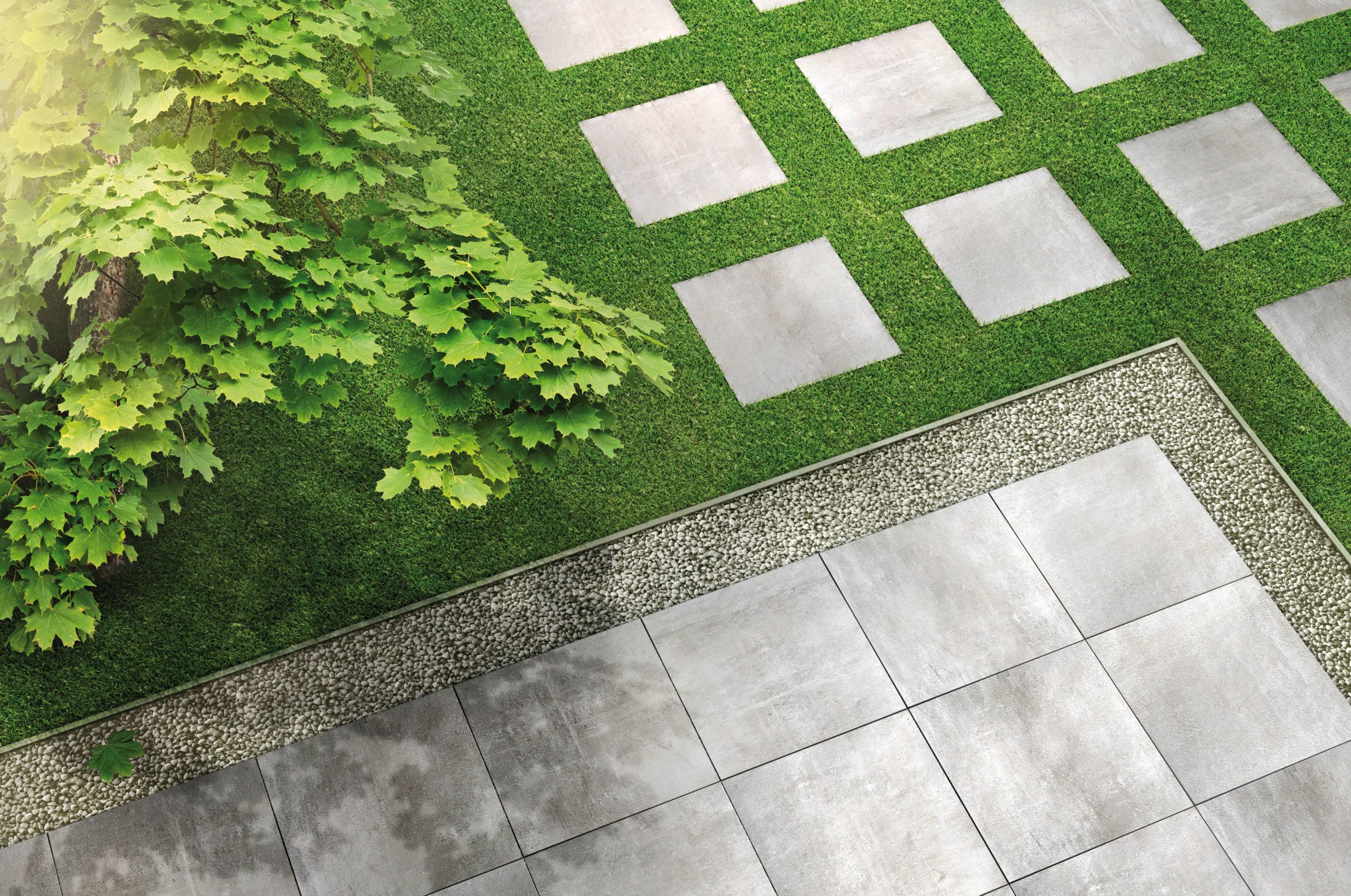 Pflegeleichter Boden auf der Terrasse