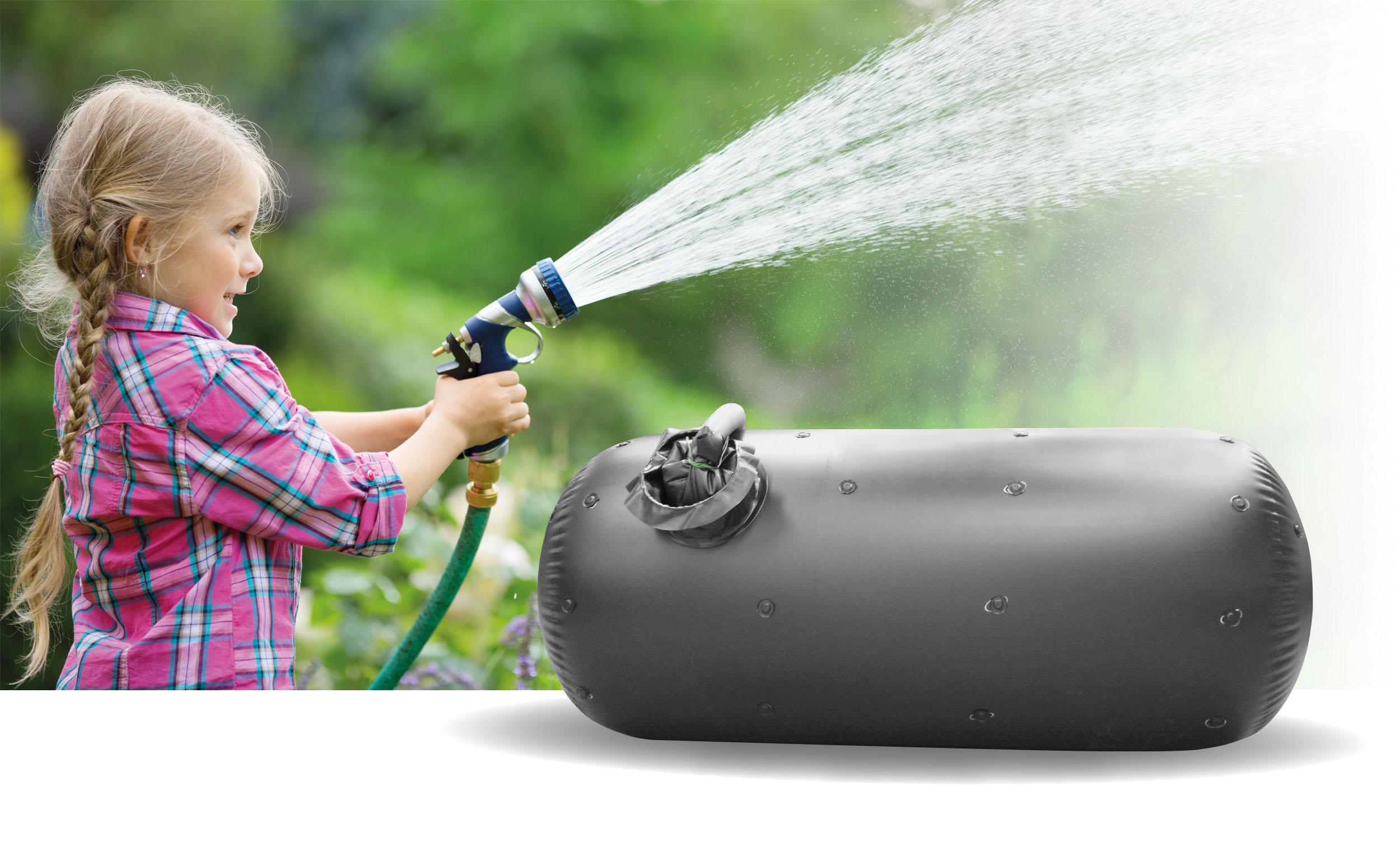 Regenwasser statt Öl speichern