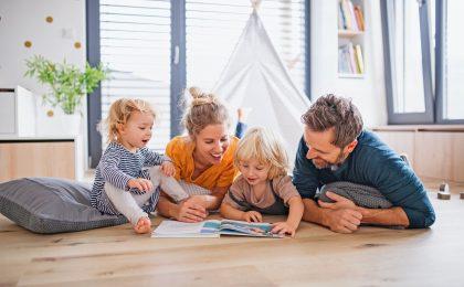 Gesunde Baumaterialien für die Familie